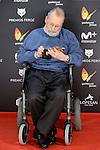 Narciso Ibáñez Serrador win the honorific award at Feroz Awards 2017 in Madrid, Spain. January 23, 2017. (ALTERPHOTOS/BorjaB.Hojas)