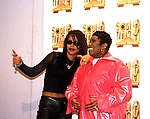Aaliyah 1998 with Missy Elliott..© Chris Walter..