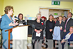 President Mary McAleese on her visit to the Killorglin Family resource on Friday ....