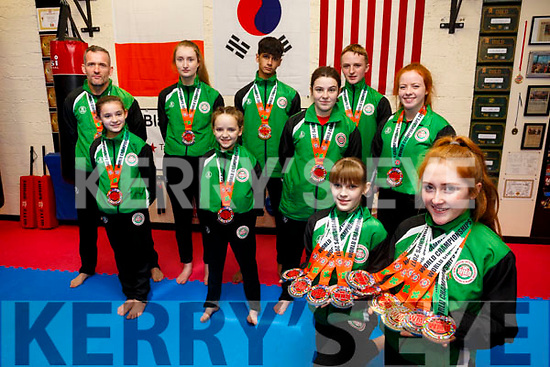 Black Belt Martial Arts Academy Pembroke Street members won 18 world medals last weekend at the world championships in Dublin
