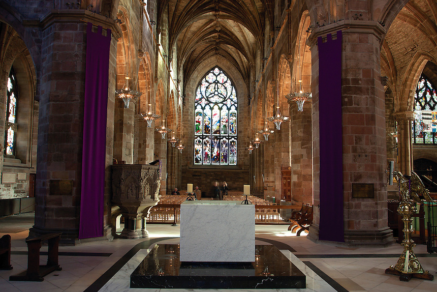St Giles Cathedral, The Royal Mile, Edinburgh, Lothian