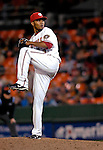 18 May 2007: Washington Nationals pitcher Jesus Colome in action against the Baltimore Orioles at RFK Stadium in Washington, DC. The Orioles defeated the Nationals 5-4 in the first game of the 3-game interleague series...Mandatory Photo Credit: Ed Wolfstein Photo