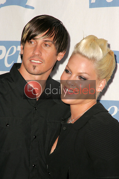 Carey Hart and Pink<br />