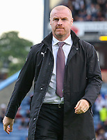 Burnley manager Sean Dyche <br /> <br /> Photographer Alex Dodd/CameraSport<br /> <br /> UEFA Europa League - Third Qualifying Round 2nd Leg - Burnley v Istanbul Basaksehir - Thursday 16th August 2018 - Turf Moor - Burnley<br />  <br /> World Copyright © 2018 CameraSport. All rights reserved. 43 Linden Ave. Countesthorpe. Leicester. England. LE8 5PG - Tel: +44 (0) 116 277 4147 - admin@camerasport.com - www.camerasport.com