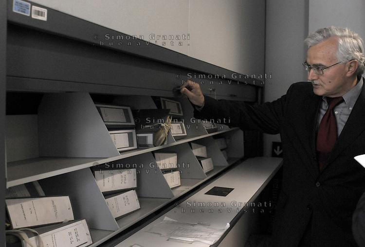 Roma, Maggio 2011.Archivio Giudiziario della corte D'Assise.