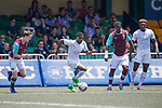 Leicester City (in white) vs West Ham United (in purple) during their Main Tournament Cup Quarter-Final match, part of the HKFC Citi Soccer Sevens 2017 on 28 May 2017 at the Hong Kong Football Club, Hong Kong, China. Photo by Marcio Rodrigo Machado / Power Sport Images