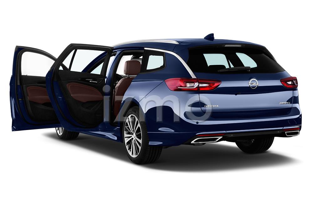 Car images close up view of a 2018 Opel Insignia Sports Tourer Dynamic 5 Door Wagon doors