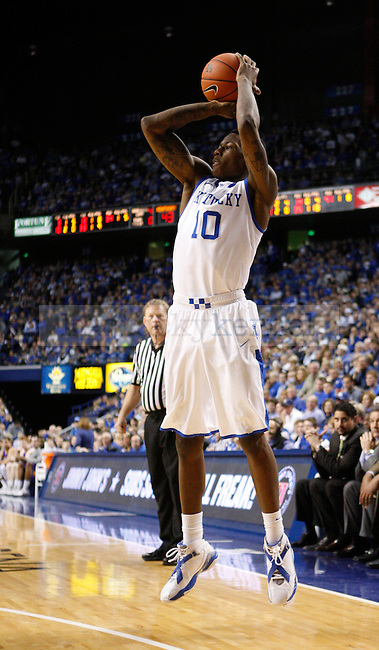 UK guard Archie Goodwin jumps to shoot the ball during the second half of the UK men's basketball vs. Lipscomb University at Rupp Arena in Lexington, Ky., on Saturday, December 15, 2012. Photo by Tessa Lighty | Staff