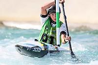 Sophie Wlson. Oceania Canoe Slalom Championships, Whero Whitewater Park, Auckland, New Zealand, 1st February 2020. Photo: Simon Watts/www.bwmedia.co.nz
