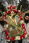 Israel, Jerusalem, the Greek Orthodox Lazarus Saturday procession in Bethfage on the Mount of Olives