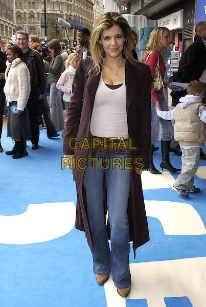 "LINDA POPADOPOULOS.At the UK Film Premiere of ""Ice Age 2: The Meltdown"",.Empire Cinema, Leicester Square, London, .England, April 2nd 2006..full length .Ref: CAN.www.capitalpictures.com.sales@capitalpictures.com.©Can Nguyen/Capital Pictures"
