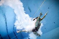 Tania Cagnotto medaglia d'oro   Finale trampolino 3m femminile   Campionati Italiani assoluti di tuffi indoor    Torino 04/04/2014    Piscina Stadio Monumentale  Nuoto Tuffi    Foto Giorgio Perottino / Insidefoto