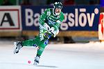Stockholm 2013-02-10 Bandy Elitserien , Hammarby IF - IFK Vänersborg :  .Hammarby 2 Olov Englund  i aktion.(Byline: Foto: Kenta Jönsson) Nyckelord:  porträtt portrait