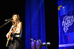 CORAL GABLES, FL - MAY 11: Mariana Vega participates in Benefit concert For Ecuador - 'Aqui Estoy' for the victims of the earthquake at BankUnited Center on Wednesday May 11, 2016 in Carol Gables, Florida.  ( Photo by Johnny Louis / jlnphotography.com )