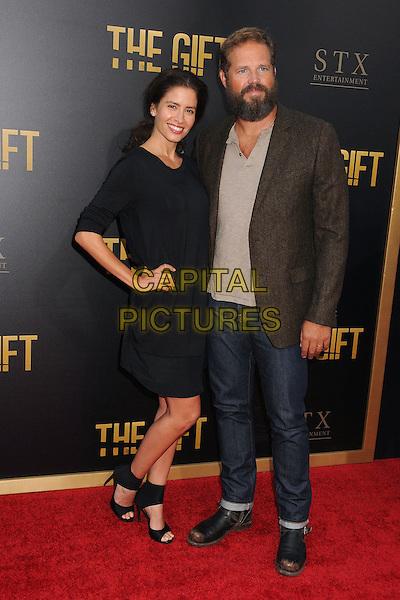 30 July 2015 - Los Angeles, California - Mercedes Mason, David Denman. &quot;The Gift&quot; Los Angeles Premiere held at Regal Cinemas LA Live.  <br /> CAP/ADM/BP<br /> &copy;Byron Purvis/AdMedia/Capital Pictures