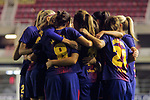 UEFA Women's Champions League 2017/2018.<br /> Round of 16.<br /> FC Barcelona vs Gintra Universitetas: 3-0.