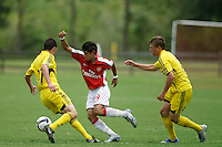 Columbus Crew v Arsenal FC U-17/18 during day one of the US Soccer Development Academy  Spring Showcase in Sarasota, FL, on May 22, 2009.