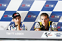 June 23, 2010 - Assen, Holland - Ben Spies (R) is pictured during the Dutch Grand Prix at Assen, Holland, on June 23, 2010. (Photo Andrew Northcott/Nippon News)..