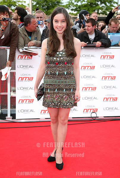Anna Popplewell arriving for the National Movie Awards 2011, at Wembley Arena, London. 11/05/2011  Picture By: Alexandra Glen / Featureflash