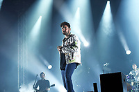 LONDON, ENGLAND - SEPTEMBER 8: Josh Franceschi of 'You Me At Six' performing at Gunnersville, Gunnersbury Park on September 8, 2019 in London, England.<br /> CAP/MAR<br /> ©MAR/Capital Pictures