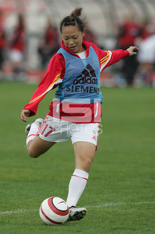 MAR 15, 2006: Albufeira, Portugal:  Lina Pan