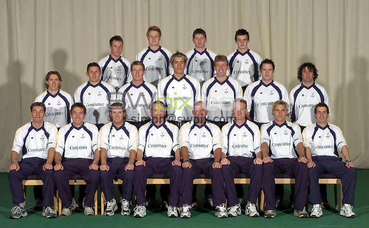 Pix: Ben Duffy/SWpix.com...County Cricket - Yorkshire County Cricket club official photocall ahead of the 2004-5 season.....16/04/2004..Yorkshire Team Group..?COPYRIGHT PICTURE>>SIMON WILKINSON>>08700920092>>.