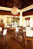 MAURITIUS, Chemin Grenier, South Coast, the Pebbles Restaurant at the Hotel Shanti Maurice
