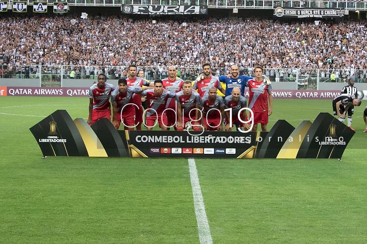 BELO HORIONTE, MG, 12.02.2019: ATLETICO(MG) X DANUBIO(URU)- durante partida entre Atletico (MG) x Danubio (URU),  válida pelo jogo de volta da fase classificatoria para a Copa Libertadores 2018,  no Estadio Independencia em Belo Horizonte, MG, na noite desta terça feira (12) (foto Giazi Cavalcante/Codigo19)