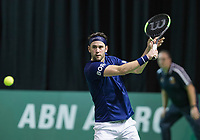 Rotterdam, Netherlands, 10 februari, 2018, Ahoy, Tennis, ABNAMROWTT,  Supermatch semifinal: Jesse Timmermans (NED)<br /> Photo: Henk Koster/tennisimages.com