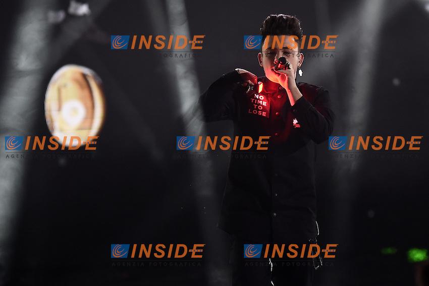 Milano 17-11-2016 - trasmissione Tv X-Factor / foto Daniele Buffa/Image/Insidefoto  <br /> nella foto: Lorenzo Lumia Loomy