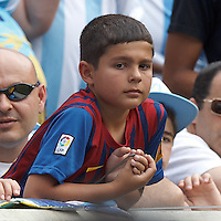"Future ""Messi"" looks on. In an international friendly (Clash of Titans), Argentina defeated Brazil, 4-3, at MetLife Stadium on June 9, 2012."