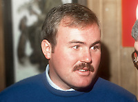 Ronan Rafferty, professional golfer, N Ireland, February, 1986, 19860207RR<br />
