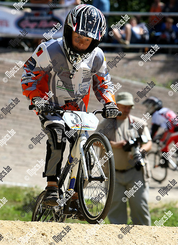 2008-08-15 / BMX / Ravels / Boys - Girls 8 / Sander Segers..Foto: Maarten Straetemans (SMB)