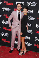 WWW.BLUESTAR-IMAGES.COM  Actor Armie Hammer and wife Elizabeth Chambers arrive at 'The Lone Ranger' World Premiere at Disney's California Adventure on June 22, 2013 in Anaheim, California.<br /> Photo: BlueStar Images/OIC jbm1005  +44 (0)208 445 8588