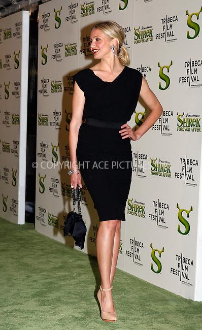 WWW.ACEPIXS.COM . . . . .  ....April 21 2010, New York City....Actress Cameron Diaz arriving at the premiere of 'Shrek Forever After' as part of the Tribeca Film Festival at the Ziegfeld Theatre on April 21 2010 in New York City....Please byline: NANCY RIVERA- ACEPIXS.COM.... *** ***..Ace Pictures, Inc:  ..Tel: 646 769 0430..e-mail: info@acepixs.com..web: http://www.acepixs.com