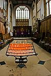 Oxford 2009-03-07. Miasto w południowej Anglli głównie znane jako siedziba Uniwersytetu Oxfordzkiego. Katedra uniwersytecka.