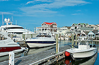 Cape May Harbor marina, NJ, New Jersey, USA