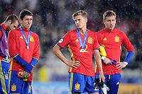 Cracovia (Polonia) 30-06-2017 Calciofinale Europeo Under 21 Polonia 2017 / Germania - Spagna / foto NewsPix/Image Sport/Insidefoto<br /> nella foto: delusione Spagna<br /> ITALY ONLY