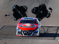 Feb 26, 2016; Chandler, AZ, USA; NHRA pro stock driver V Gaines during qualifying for the Carquest Nationals at Wild Horse Pass Motorsports Park. Mandatory Credit: Mark J. Rebilas-