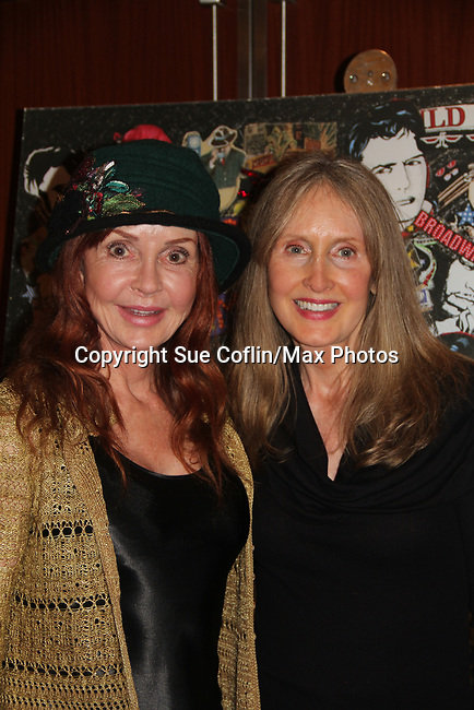 General Hospital's Jacklyn Zeman poses with her sister Carol - The 31st Annual Jane Elissa Entertainment Extravaganza to benefit Leukemia, Cancer Research and Broadway Cares Equity Fights Aids on November 5, 2018 at the New York Marriott Marquis, New York City, New York.  (Photo by Sue Coflin/Max Photos)