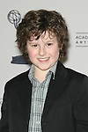 "NOLAN GOULD. Arrivals to An Evening With ""Modern Family,"" at the Leonard H. Goldenson Theatre, Academy of Television Arts & Sciences. North Hollywood, CA, USA. March 3, 2010."