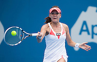 AGNIESZKA RADWANSKA..Tennis - Apia Sydney International -  Sydney 2013 -  Olympic Park - Sydney - NSW - Australia.Wednesday 9th January  2013. .© AMN Images, 30, Cleveland Street, London, W1T 4JD.Tel - +44 20 7907 6387.mfrey@advantagemedianet.com.www.amnimages.photoshelter.com.www.advantagemedianet.com.www.tennishead.net
