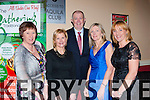 Dr Crokes members attending the East Kerry All Star awards in the Gleneagle Hotel on Friday night l-r: Noreen Coffey, Breda Brosnan, Denis Coleman Chairman, Ann Byrnes and Frances O'Sullivan