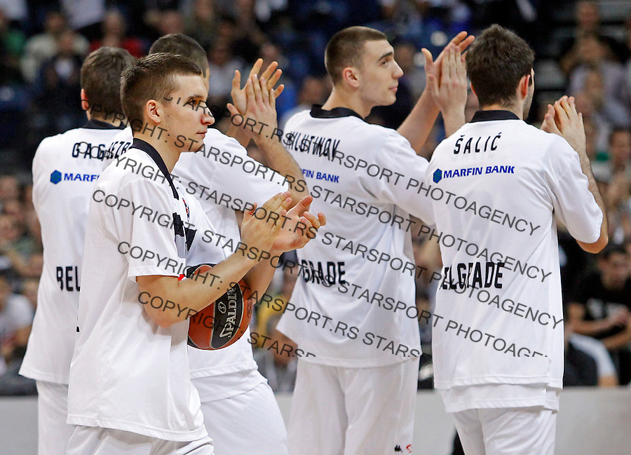Partizan's Bogdan Bogdanovic Top 16 Euroleague basketball game Partizan - Real Madrid in Kombank Arena on January 3, 2014. (credit image & photo: Pedja Milosavljevic / STARSPORT / +318 64 1260 959 / thepedja@gmail.com)