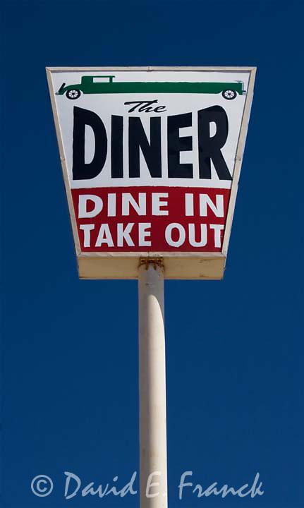 The Car Diner sign in Murdo South Dakota
