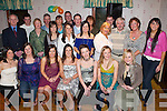 Party: Celebrating her 21st birthday in style at Hartys Bar, Tralee, on Friday evening was Olivia Dineen of Causeway (seated front sixth from left), along with family and friends..