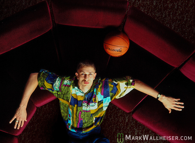 Bob Sura poses for a photograph on the Florida State campus January 15, 1993.  Sura was FSU's first player named to the All_ACC first team and played at Florida State with other NBA stars such as Sam Cassell and Charlie Ward.  Sura was recruited by and plaid for FSU coach Pat Kennedy.  Sura was drafted 17th overall by the Cleveland Cavaliers in 1995.