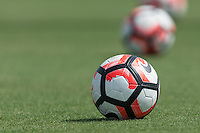 Houston, TX - June 19, 2016: The USMNT train in preparation for their 2016 Copa America Centenario Semifinal match versus Argentina at Houston Sports Park Dynamo Field.