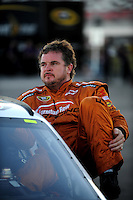 Feb 29, 2008; Las Vegas, NV, USA; NASCAR Sprint Cup Series driver Joe Nemechek during qualifying for the UAW Dodge 400 at Las Vegas Motor Speedway. Mandatory Credit: Mark J. Rebilas-