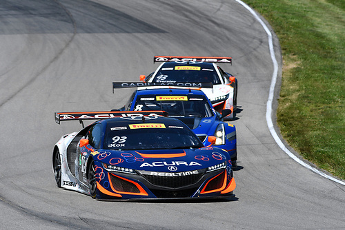 Pirelli World Challenge<br /> Grand Prix of Mid-Ohio<br /> Mid-Ohio Sports Car Course, Lexington, OH USA<br /> Sunday 30 July 2017<br /> Peter Kox<br /> World Copyright: Richard Dole/LAT Images<br /> ref: Digital Image RD_MIDO_17_292